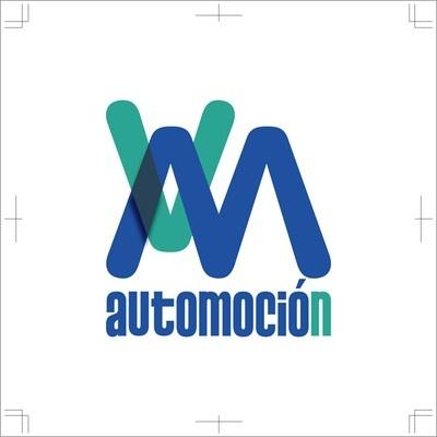 """Logotipo para taller de automoción, """"VM Automoción"""". Monesterio (Badajoz)"""