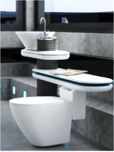 7 best images about interior design futuristic - Eco friendly bathroom sinks ...