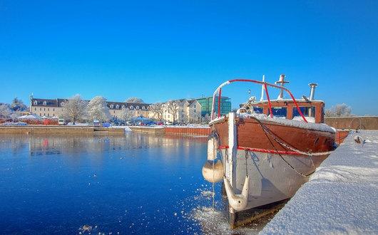 Winter at Hodson Bay!