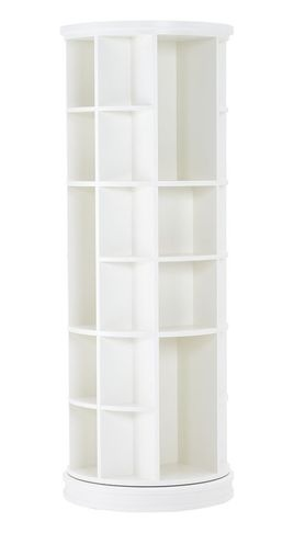 PB Teen revolving bookcase has many possibilities... Could it store shoes & boots? In a bedroom?  in a mudroom?  in master walk-in closet? $699