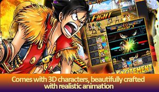 free One Piece Magic Crew game android 2016