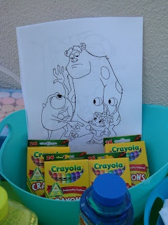 CC Party Planners: Brayden's 1st Birthday (Monster's Inc Edition)