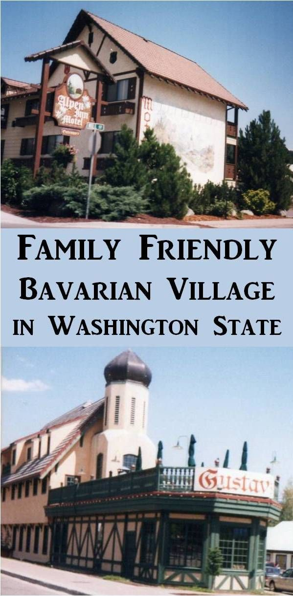 For a Family Friendly Vacation, visit Leavenworth, a Bavarian Village in Washington State.  You and the kids will love this quaint town nestled in the Cascade Mountains.   It is approximately 120 miles northeast of Seattle on Hwy 2.  Check out all the activities and restaurants this town has to offer.
