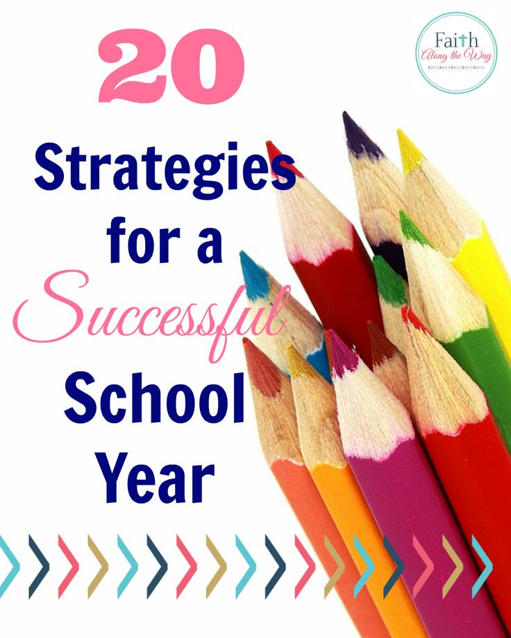 20 Strategies for a Successful School Year- Parents and homeschool families will unlock the key to academic success with these strategies for a successful school year.