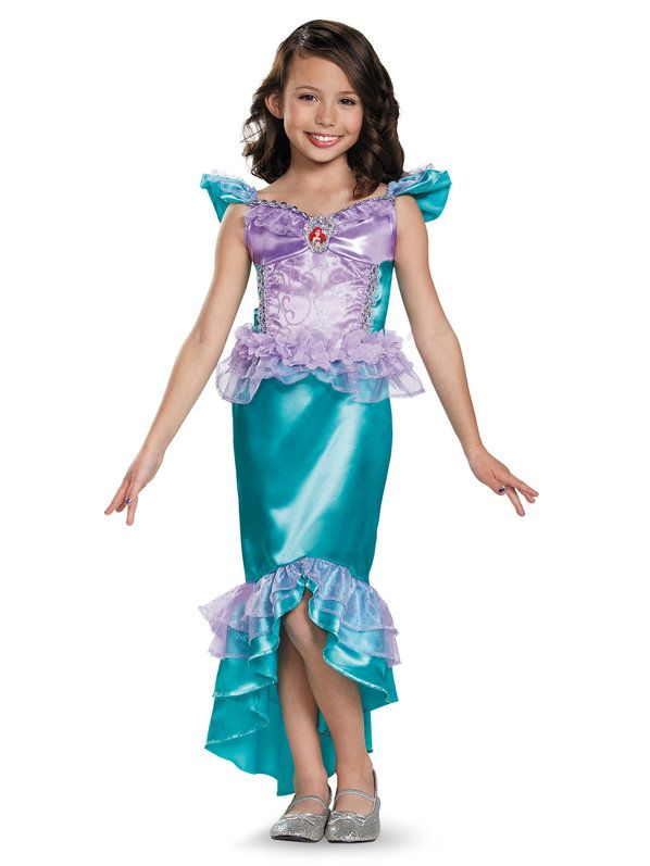 Check out Disney's The Little Mermaid Ariel Classic Girls Costume - Disney Princess Girls Costumes from Wholesale Halloween Costumes