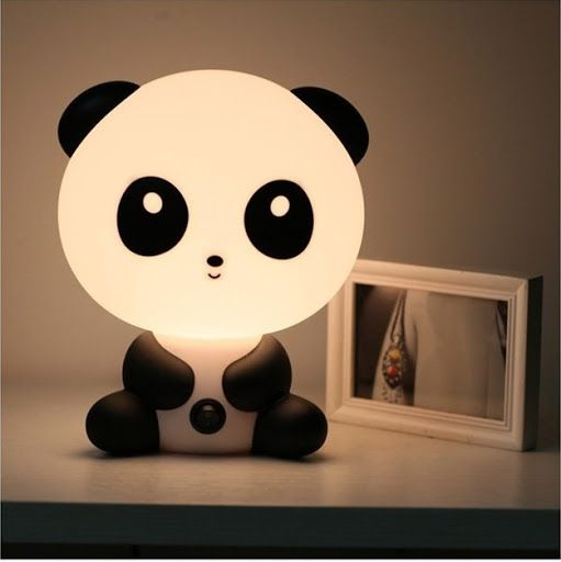 """Kids lamp – panda"" 