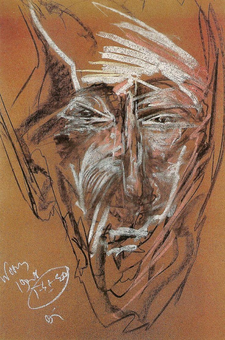 Stanislaw Ignacy Witkiewicz, Portrait of Bohdan Filipowski 1928