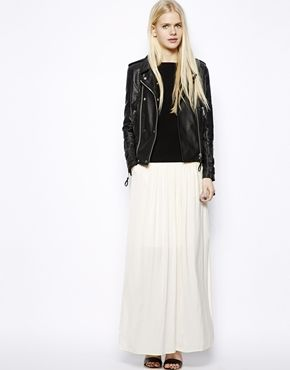 Falda larga Luxe de Monki