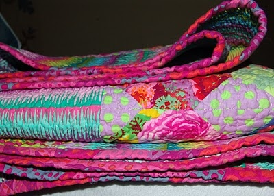 quilt border pink
