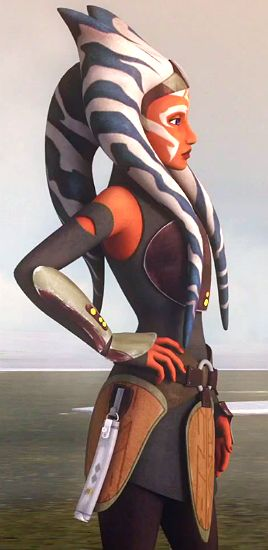 Ahsoka Tano. I'm still a little disappointed the design on her lekku was changed slightly.