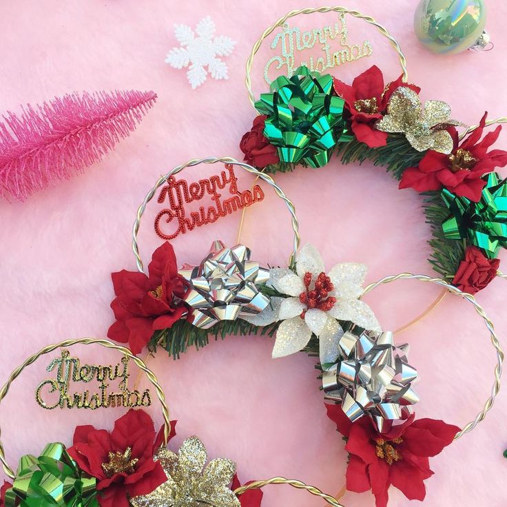 "60 Likes, 6 Comments - PARLOR OF PRETTIES (@parlorofpretties) on Instagram: ""Just listed our Very Merry Christmas Minnie Ears on our Etsy shop! $30 each❤️❤️ . . . .…"""