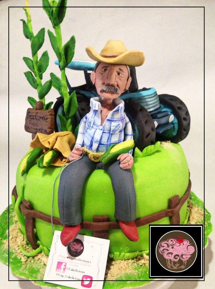 Pastel Agricultor Cakes En 2019 Pinterest Agricultor