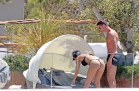 Photos: Cristiano Ronaldo & girlfriend Georgina Rodriguez enjoy romantic break in Ibiza