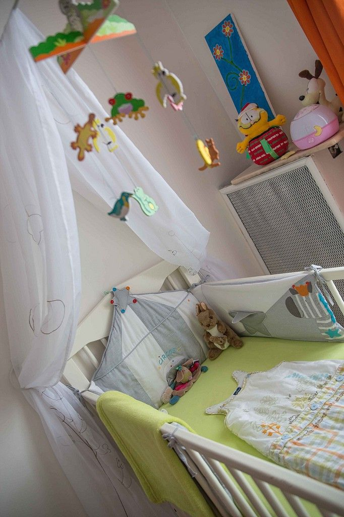 18 best images about d co chambre de b b on pinterest coins ikea hacks - Ciel de lit bebe blanc ...