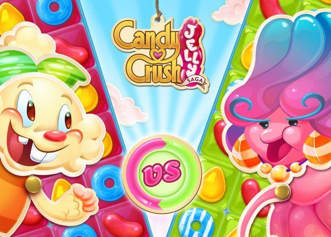 Candy Crush Jelly Saga – Unlimited Lives APK Mod