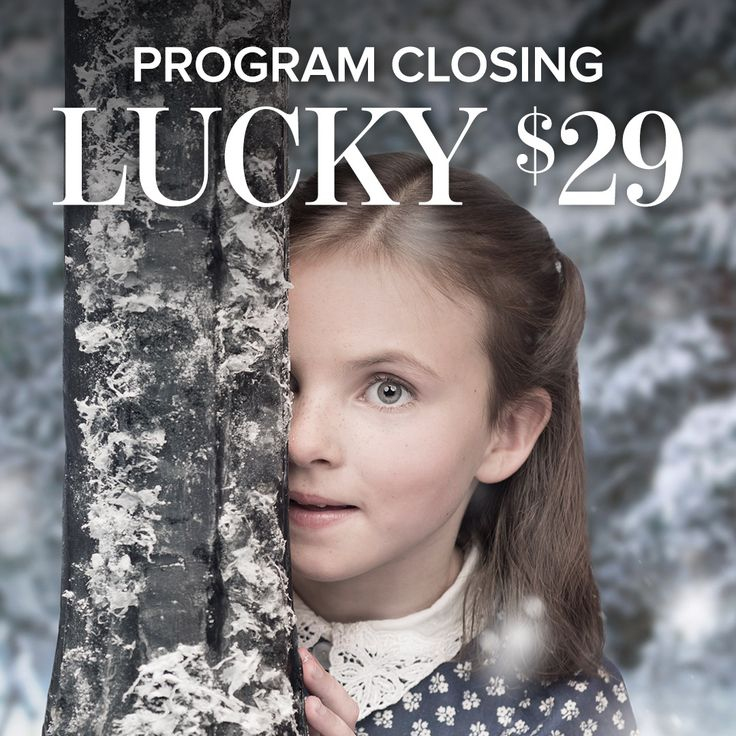 Our Lucky $29 lottery ends August 18 at midnight! Pick a play and pay ONLY $29 per ticket! New shows and dates just added - including this season's hot ticket The Lion, the Witch and the Wardrobe. Hurry while quantities last!
