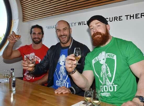 Seth Rollins, Cesaro, Sheamus Dick27Ambrose