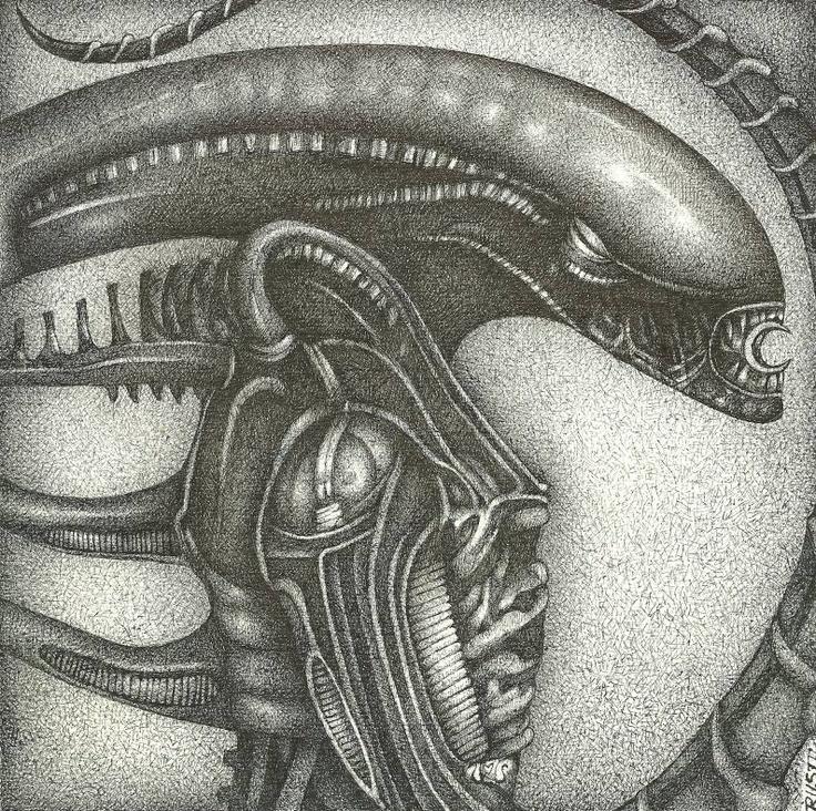 HR Giger's Alien