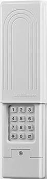 Universal Wireless Keypad 387LM Liftmaster  This replacement wireless keypad for Liftmaster, sears, chamberlain, genie, overhead door, linear/moore-o-matic, stanley, do it, master mechanic residential garage door openers using 300, 310, 315, 372, 390 Mhz frequency.