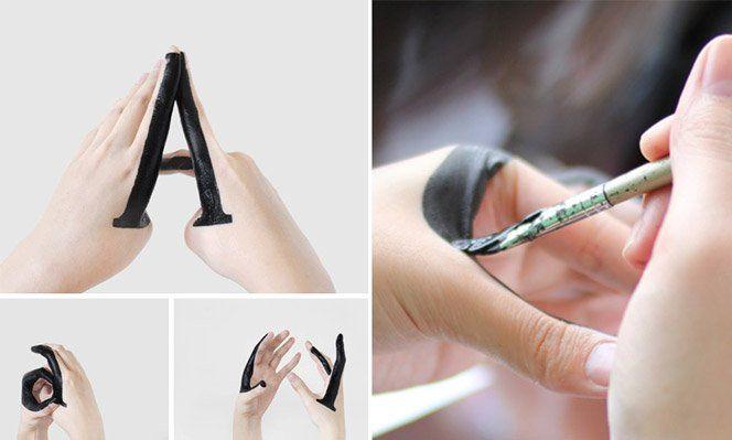 A designer Tien-Min Liaocriou o projeto Handmade Type, onde experiencia fontes desenhas em sua própria mão. O estudo contempla também animações de letras Maiúsculas virando minúsculas.