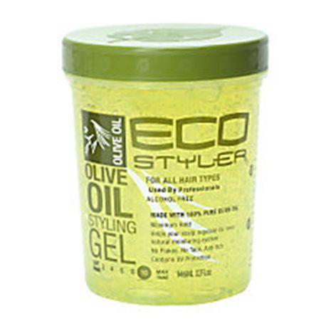Eco Styler Olive Oil Styling Gel 236 ml Få ingredienser Gel utan silikon