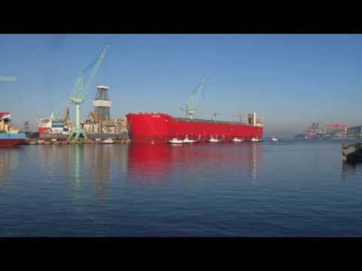 Prelude FLNG floats for the first time (video)