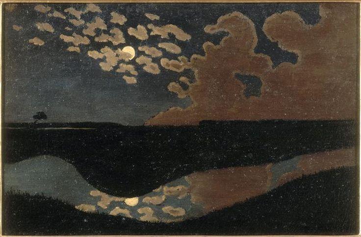 Clair de lune, ca. 1895, by Félix Vallotton (1865-1925), Paris, musée d'Orsay
