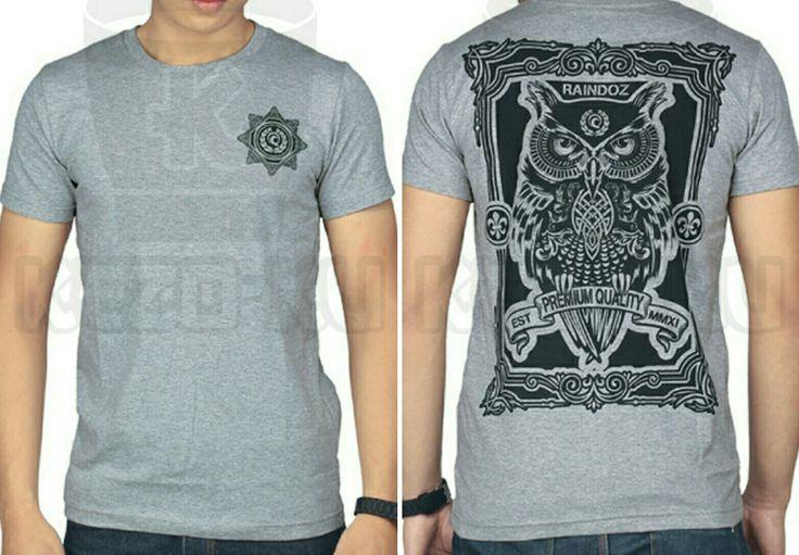 T-Shirt Owl...katanya sih lagi laris gambar burung hantu ini..hanya 96rb aja..ukuran S M L XL bahannya fleece..😎😎  #tshirt #raindoz #kezoku #owl #murah #bandung