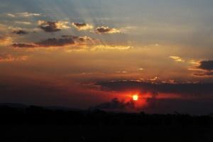 Sunset on the Highveld - Johannesburg South Africa.