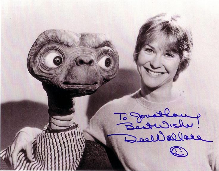 Actress Dee Wallace Stone was born 12-14-1949. She's been in numerous horror genre and other films and had the role of Elliott's mom in the mega hit film E.T.