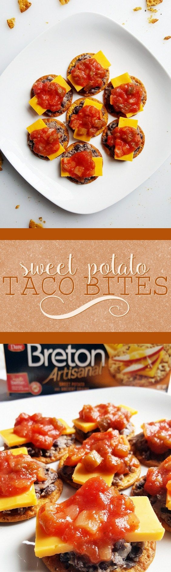 #Sponsored These sweet potato taco bites are perfect for a quick and delicious snack or appetizer!