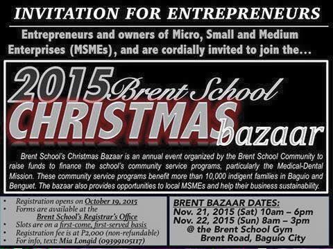 37 best Christmas Bazaars 2015 images on Pinterest Bazaars - invitation maker in alabang town center