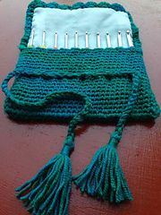 Free Crochet Star Hook Case Pattern : 13 best images about Crochetina - Crochet Hook Case on ...