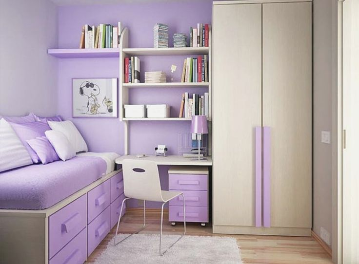 Teen Bedroom Ideas Purple