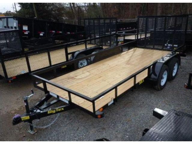 2017 Big Tex Tandem Axle Utility Trailer 6 6x16 Utility Trailer Utility Trailers For Sale Trailer
