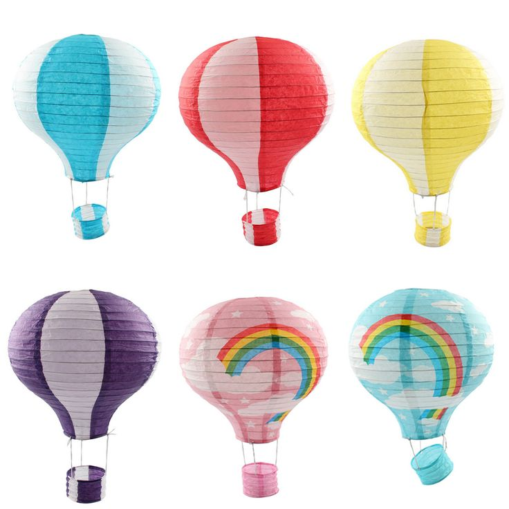 12 inch Hot Air Balloon Paper Lantern for Wedding Party Birthday Craft Garden Decoration-in Event & Party Supplies from Home & Garden on Aliexpress.com | Alibaba Group