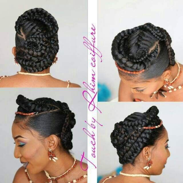 Pin By Didi Diana On Dy Traditionnal Wedding Natural Hair Styles Hair Styles Editorial Makeup