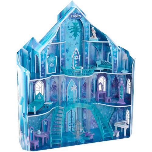 kidkraft maison de poup e snowflake mansion th me de la reine des neiges de disney. Black Bedroom Furniture Sets. Home Design Ideas