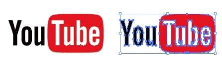 Youtube(ユーチューブ)のロゴマーク  イラレ/ベクトルデータ【無料配布】