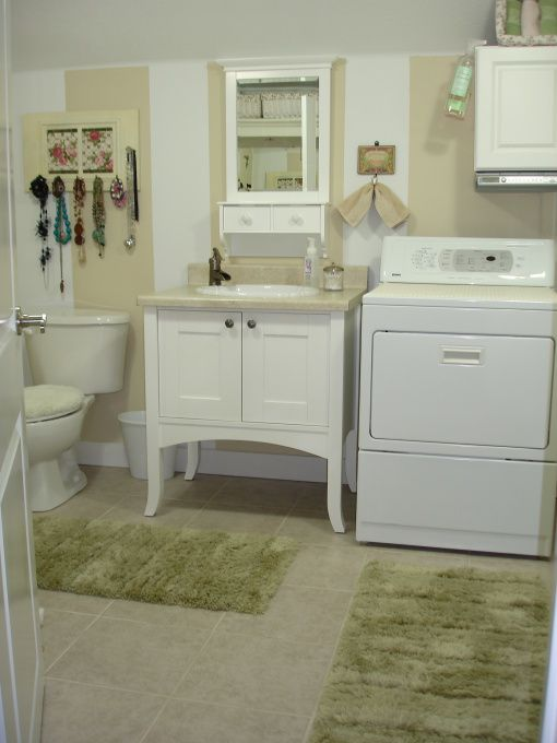 49 best basement laundry bathroom combo images on pinterest good ideas organization ideas and. Black Bedroom Furniture Sets. Home Design Ideas
