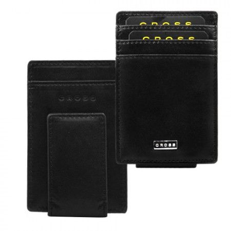 We are occupied in #wholesaling and #delivering to our #customers, a broad range of #CorporateCross #CreditCard Money Clip, which is finished with genuine Cross leather. This Cross Credit Card #MoneyClip has many pockets for #creditcards, #visiting cards, and others