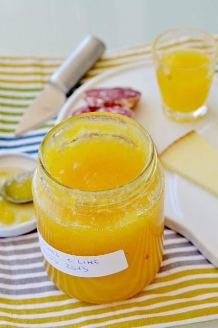 """Dafne's Corner """" il Gusto"""": Confettura di Ananas e lime"""