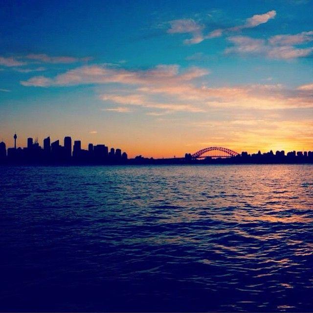 Beautiful Sydney harbour!