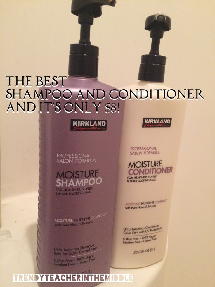Kirkland Shampoo & Conditioner from Costco