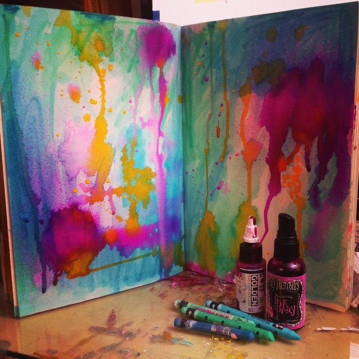 Art Journal inspiration. Tamara Laporte. www.willowing.org.