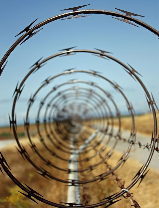 11 best Razor Wire images on Pinterest | Barbed wire, Wire and Black ...