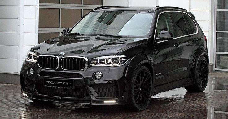 Make Your BMW X5 More Aggressive With TopCar And Lumma #BMW #BMW_X5