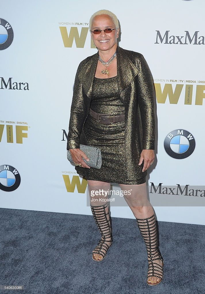 Actress Shari Belafonte arrives at Women In Film 2016 Crystal + Lucy Awards Presented By Max Mara And BMW at The Beverly Hilton Hotel on June 15, 2016 in Beverly Hills, California.