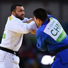 Men's 90 kg Elimination Round of 32 Judo event at Rio Olympic Games