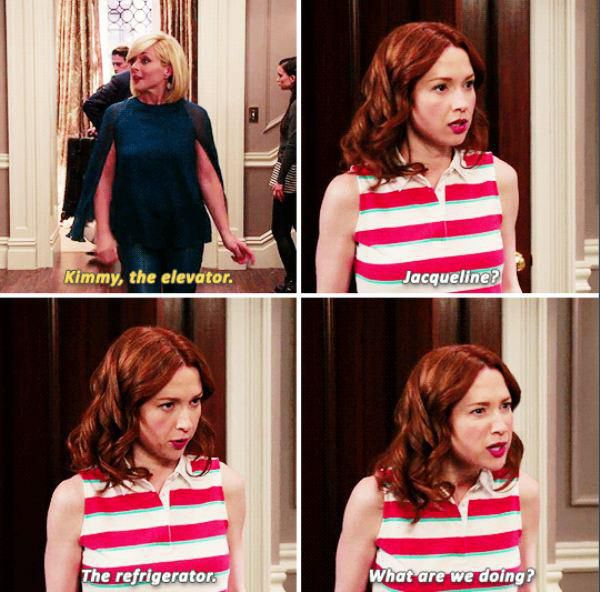 We all have a little bit of Unbreakable Kimmy Schmidt in us (18 photos)